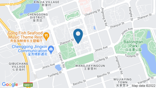 Wyndham Grand Kunming East Map