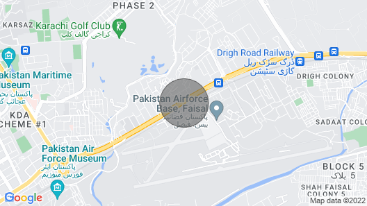 Centre Karachi Apartment Map