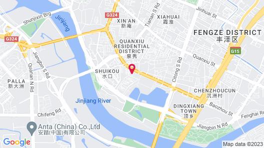 Wanda Vista Quanzhou Map