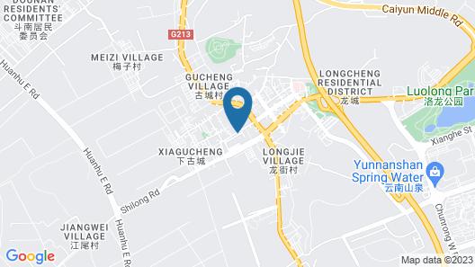 Tianyuan Hotel Map