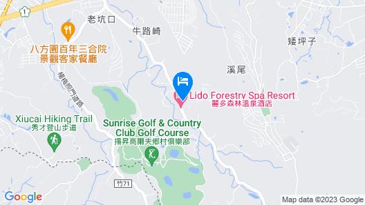 Lido Forestry Spa Resort Map
