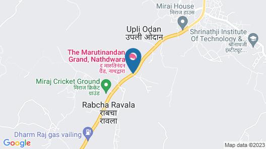 The Maruti Nandan Grand Map