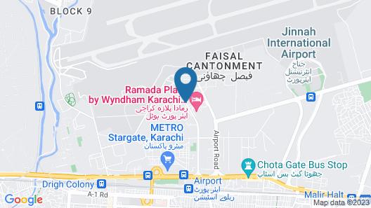 Ramada Plaza by Wyndham Karachi Airport Hotel Map