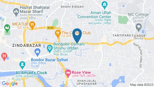 Hotel Jahan Map