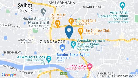 Panshi Inn Map