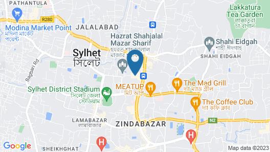 Hotel Musafir Map