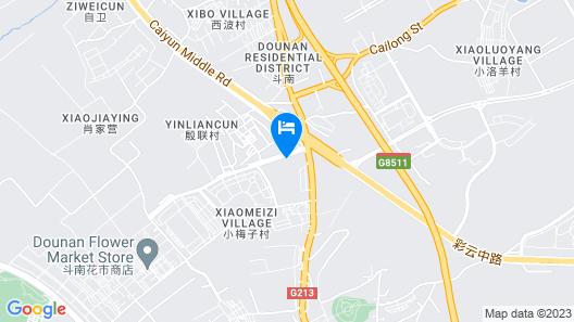 Xin Sheng Da Hong Sheng International Hotel Map