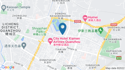 Quanzhou City Garden Hotel Map