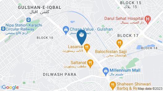 Hotel step inn Map