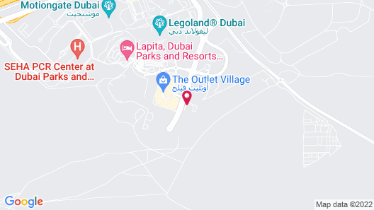 Rove At The Park Map
