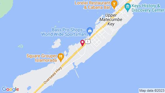Islander Bayside Villas and Boatslips Map