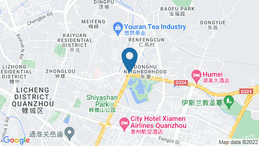 Holiday Inn Express Quanzhou City Center Map