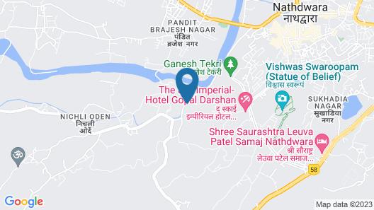 juSTa Brij Bhoomi Nathdwara Map
