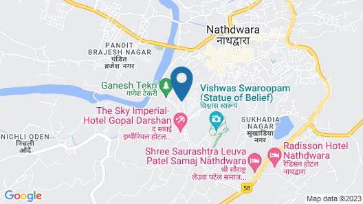 ShriGo Hotel Nathdwara Map