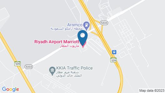 Riyadh Airport Marriott Hotel Map