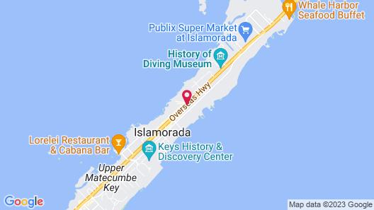 Hadley House Islamorada Map