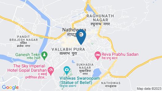Hotel Shree Pratham Milan Map