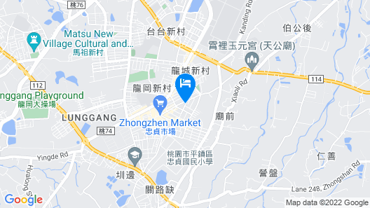 Baoshan Hotel Map