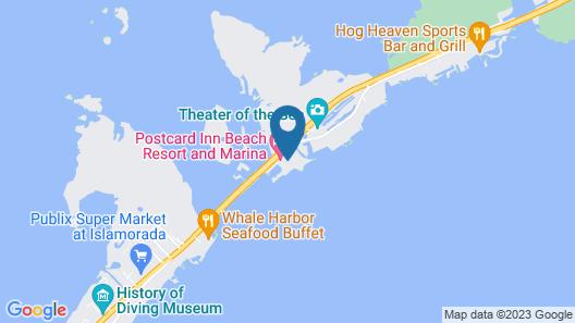 Postcard Inn Beach Resort & Marina Map