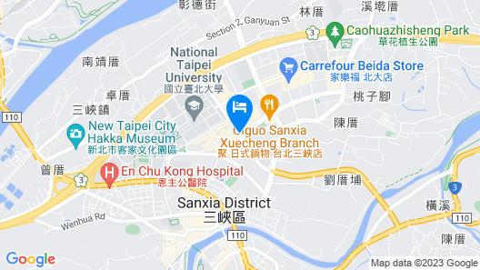 Fullon Hotel Sanyin Map
