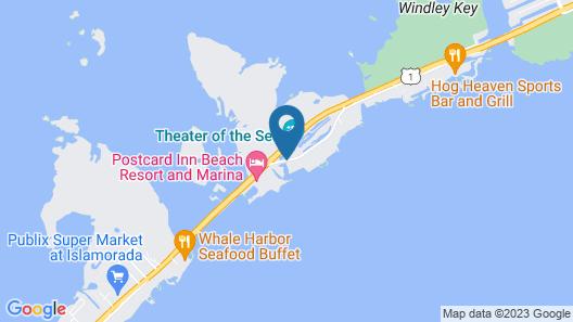 Pelican Cove Resort & Marina Map