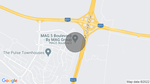 Dubai South MAG 5 555 Map