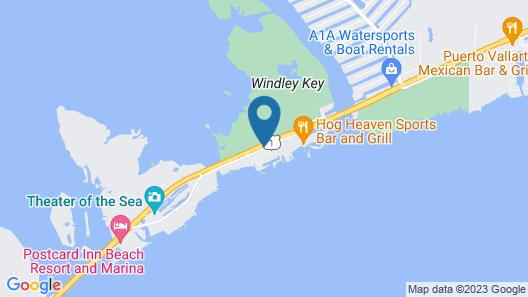 Angler's Reef Resort by KeysCaribbean Map