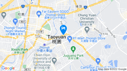 JS Hotel-Gallery Hotel-Zhongli Map
