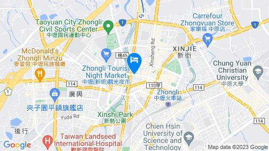 Le Midi Hotel Jungli Map