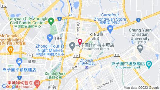 i hotel Zhongli Map