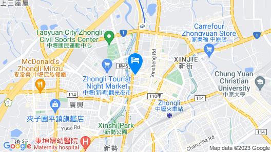 A22 Wei Lu Hotel Map