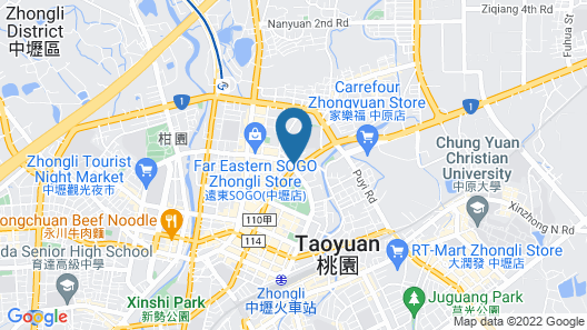 CRYSTAL CITY HOTEL Map