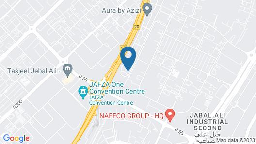 Bright Spacious 2BR Apartment in Jebel Ali Map