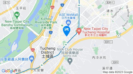 HUB Hotel Tucheng  Map