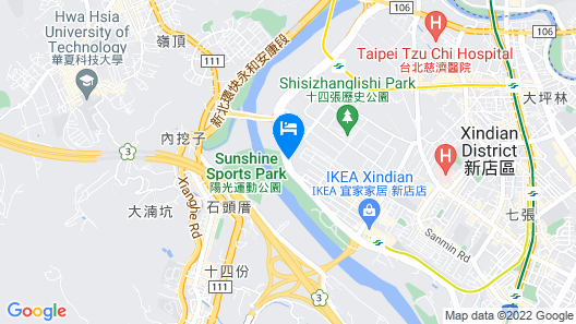 All-Ur Boutique Motel - Xin-Jhung Branch Map