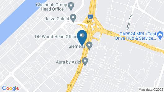 easyHotel Dubai Jebel Ali Map