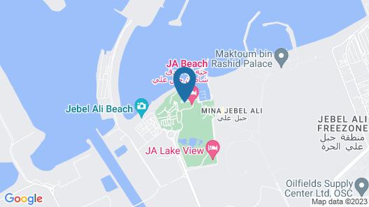 JA Beach Hotel Map