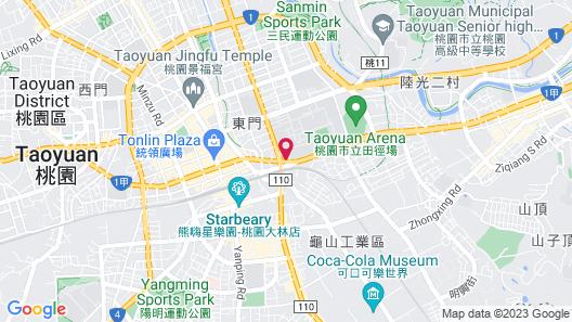 Taoyuan Hua Yue Hotel Map
