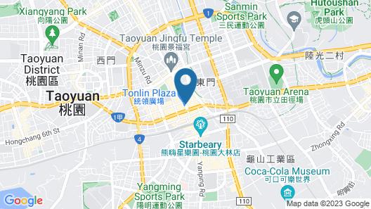I Hotel Map
