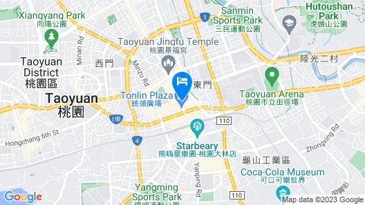 City Suites Taoyuan Station Map