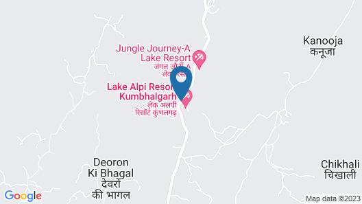 Lake Alpi resort Kumbhalgarh Map
