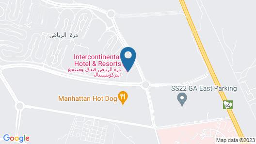 Durrat Al Riyadh Resort & SPA Map