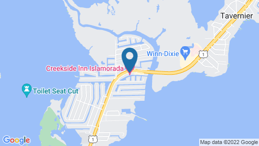 Creekside Inn Islamorada Map