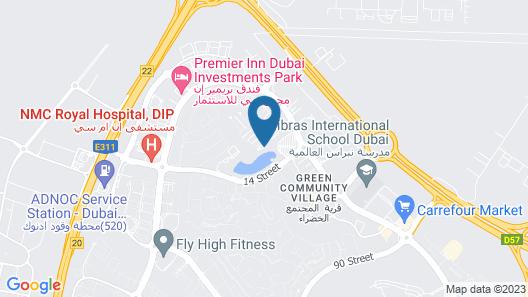 Marriott Executive Apartments Green Community Map