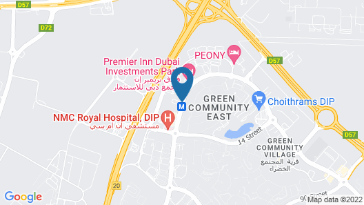 Fortune Park Hotel Map