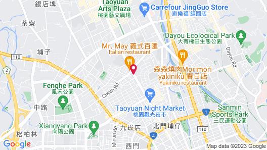 Well Garden Hotel Map