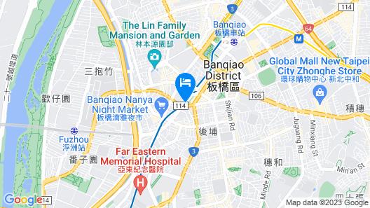 Grand Forward Hotel Map