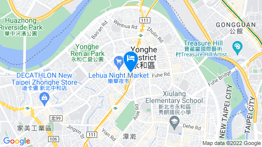 K HOTEL - Yunghe Map