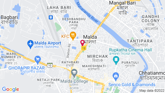 Mango Leaf Hotel Map