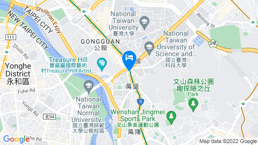 May Rooms Taipei NTU Map